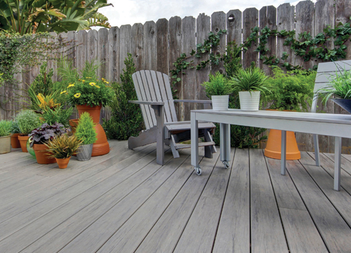 Easyclean Legacy Capped Decking Boards