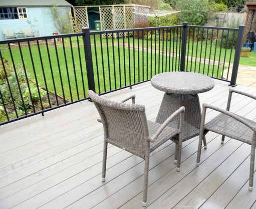 Easyclean terrain capped deck boards from timbertech Terrain decking