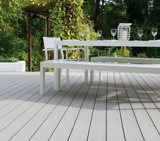garden decking vertigrain grey garden decking timbertech uk