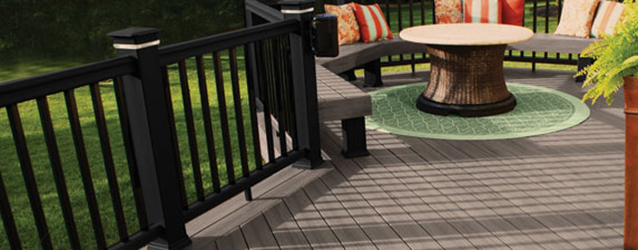 Easyclean Terrain Silver Maple Composite Decking